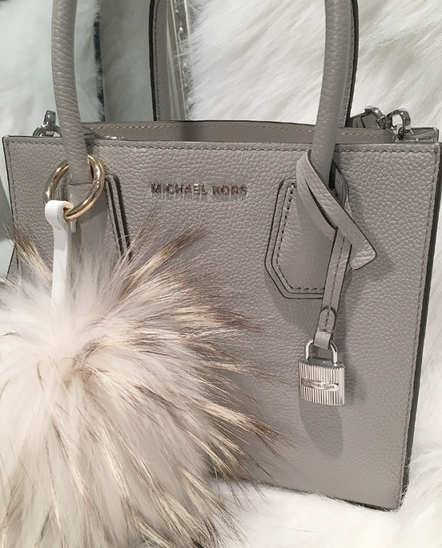 3f769b5cca477d I never really reach for bags with silver hardware since I`m more of a gold  kinda girl, but I do love the way the silver looks against the pearl grey  ...